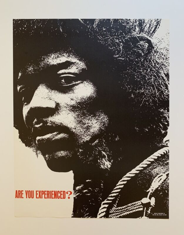 Are You Experienced? Jimi Hendrix Original Poster