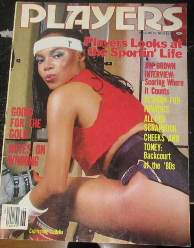 PLAYERS VOLUME 10 # 6 VINTAGE AFRICAN AMERICAN COLLECTABLE MAGAZINE