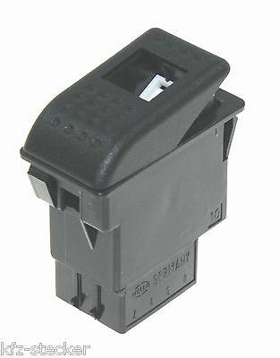 Schalter 12 24 V Wippenschalter KFZ LKW Hella 7832-00 Wippschalter