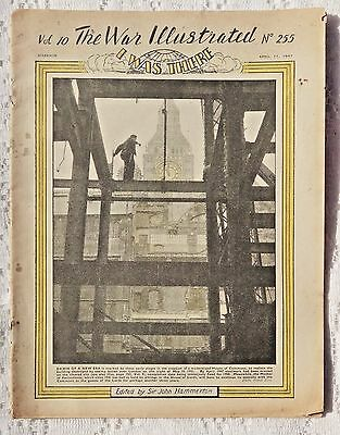 VINTAGE 1947 - THE WAR ILLUSTRATED - VOLUME 10 -  NO. 255 - FINAL EDITION