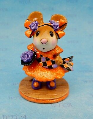 Wee Forest Folk MISS LIBERTY, WFF# M-307, Halloween, Mouse Expo Fright Night
