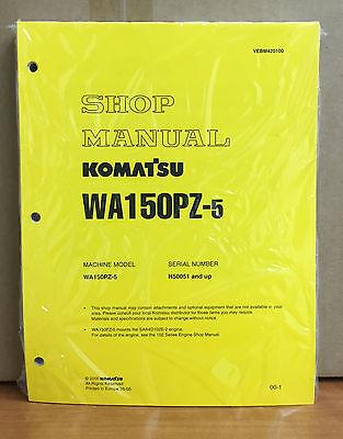 Komatsu Wa150pz-5 Wheel Loader Shop Service Repair Manual