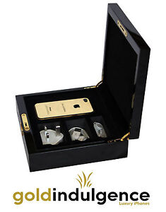 24ct Gold Plated iPhone 4S 16GB Factory Unlocked in Luxury Presentation Box