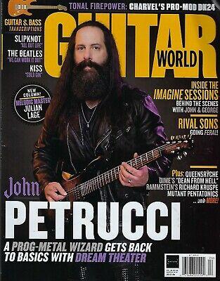 GUITAR World April 2019  John Petrucci