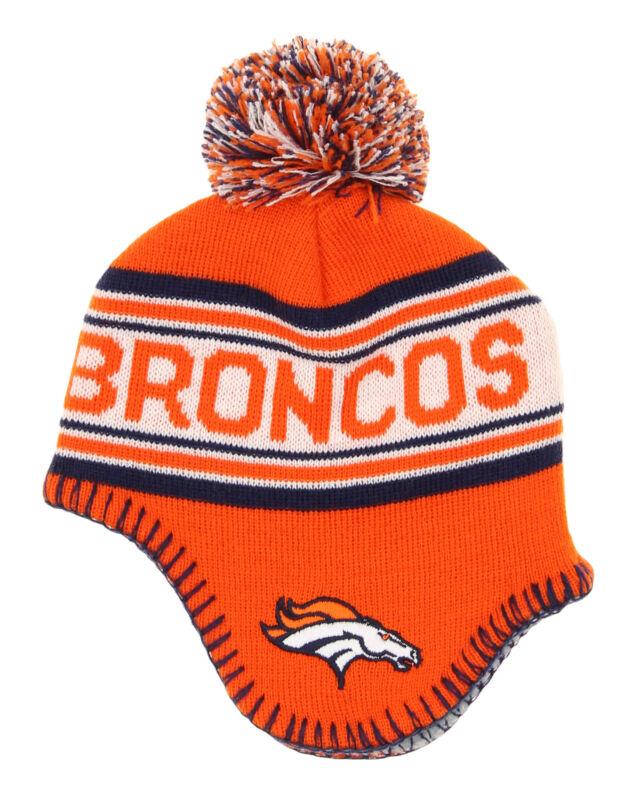 Outerstuff NFL Infants Denver Broncos Jacquard Knit Hat W/Pom