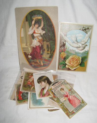 "11  19TH C. YEAST (8) & STARCH (3) TRADE CARDS ""FLEISCHMAN COMPRESSED YEAST"" BO"