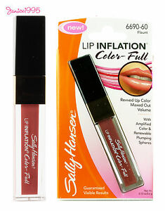 SALLY HANSEN Lip Plumping Lip Inflation Color Full  # 60 FLAUNT