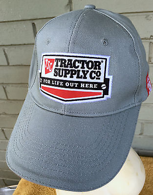 Tsc Tractor Supply Company For Life Out Here Baseball Cap Hat Strapback