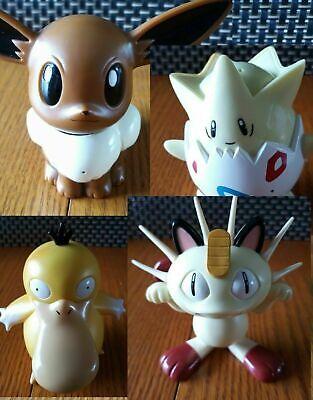 Pokemon 1998 TOMY Sound Activated Talking Toys Nintendo