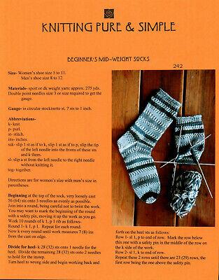 Knitting Pure & Simple Beginner