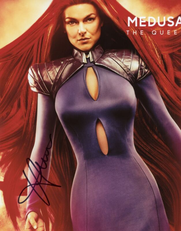 "Serinda Swan ""Inhumans"" AUTOGRAPH Signed 8x10 Photo ACOA"