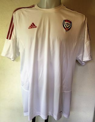 UAE UNITED ARAB EMIRATES S/S HOME SHIRT  BY ADIDAS SIZE ADULTS XL BRAND NEW  image