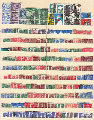 Great Britain - small stamp lot-1