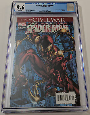 Amazing Spider-Man #529 (CGC 9.6 NM+, 1st Iron Spider (new suit) appearance)! (Awesome Iron Man Suits)