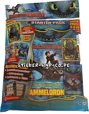 Blue Ocean Drachenzähmen 3 Die geheime Welt Trading Cards Starterpack