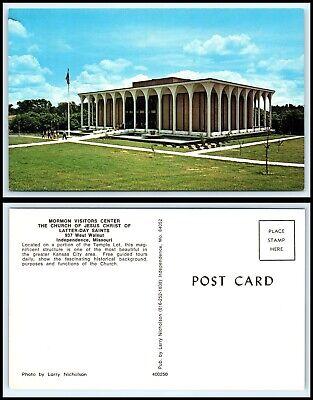 MISSOURI Postcard - Independence, Mormon Visitors Center (Independence Center Missouri)