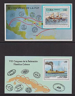 Central America - MS 2822, 2864 - u/m - 1982 - Philex france stamp exhibition