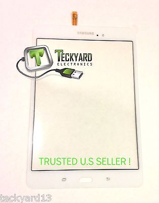 """SAMSUNG GALAXY TAB A 8.0 TOUCH SCREEN DIGITIZER PART FOR SM-T350 WHITE 8"""""""