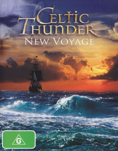 CELTIC THUNDER - NEW VOYAGE DVD ~ IRISH~IRELAND~CELTS ~ ALL REGION DVD *NEW*
