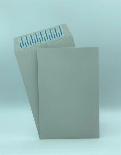 "6"" x 9"" Premium Catalog Envelopes, Premium 24lb. Gray, Peel & Seal, 500/Box"