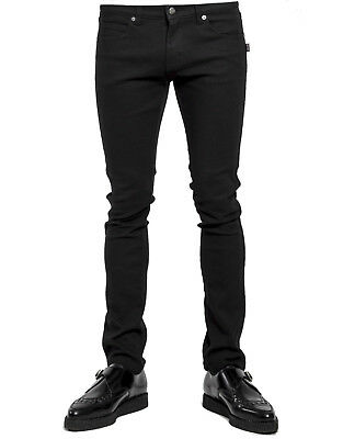 Trash & Vaudeville ROCKER METAL PUNK GOTH BIKER BLACK SKINNY JEANS PANTS TV7969M Clothing, Shoes & Accessories