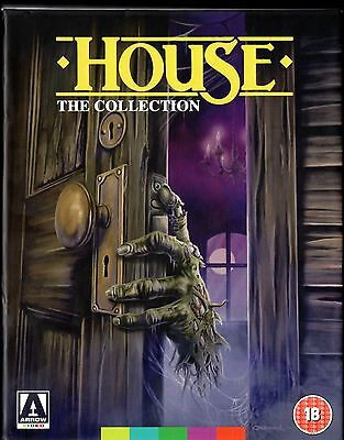 HOUSE Complete Collection 4 Film ARROW Limited Edition Blu ray / DVD Box set