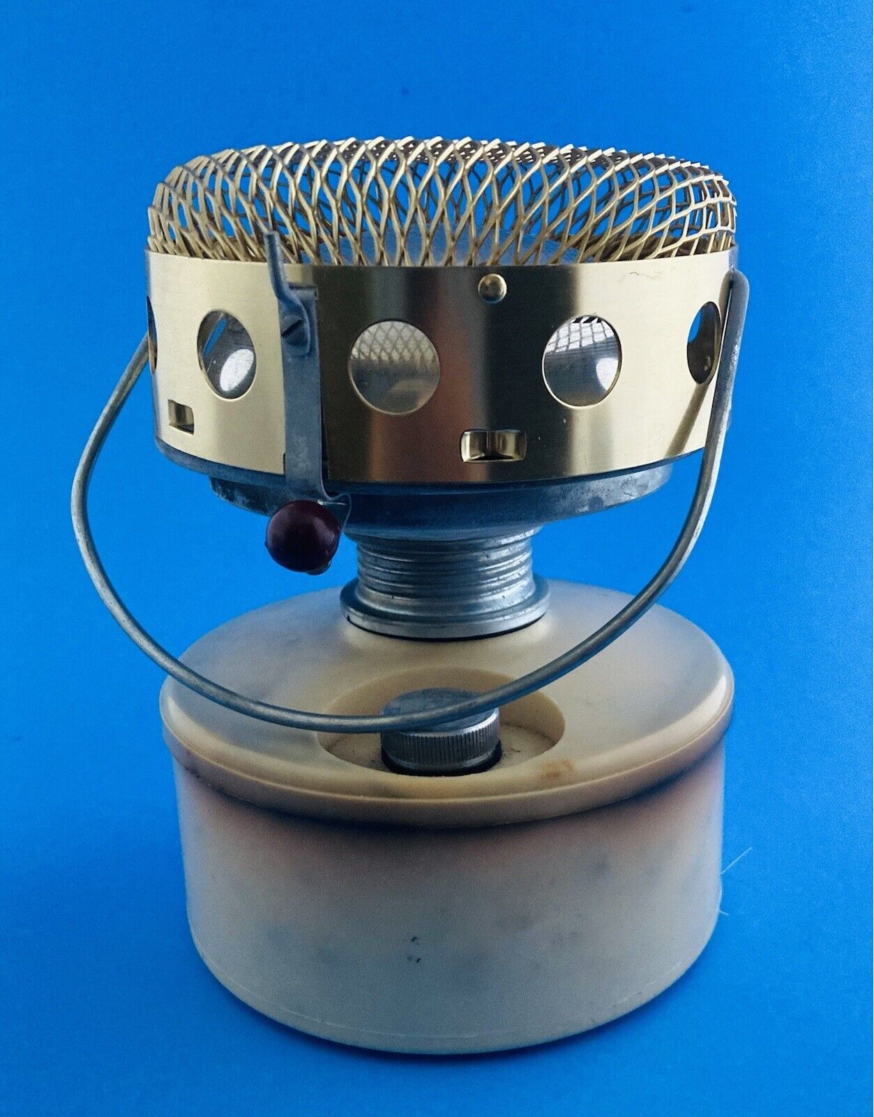 """Therm""""X safety heater Type 21 S.L.R.C, CALUIRE No. 12638 Made in FRANCE"""
