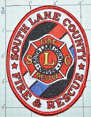 OREGON, SOUTH LANE COUNTY FIRE DEPT RESCUE PATCH