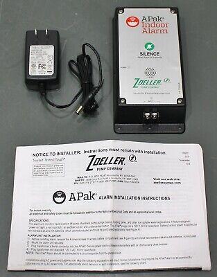 Zoeller Pump Co. Apak Indoor Flood Alarm System 10-4012 W Power Adaptersupply