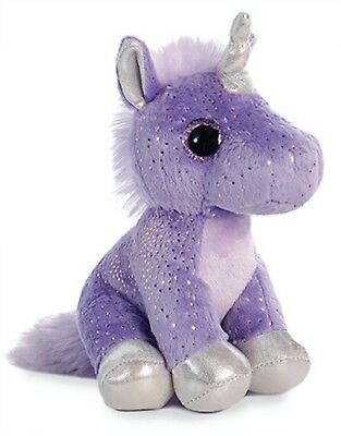 "Aurora Sprinkles UNICORN 8"" Plush Sparkle Tales Purple Stuff"