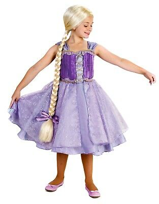 Princess Tower - Tangled Rapunzel Tower Princess Girl's Dress Up Costume S M 6 8