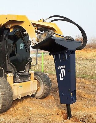 Hydraulic Hammer Skid Steer Loader Breaker Mini Excavator Attachment 4 To 8ton