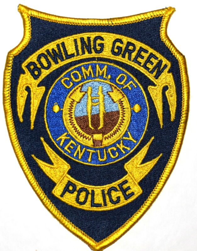 BOWLING GREEN KENTUCKY KY Sheriff Police Patch STATE SEAL HANDSHAKE ~