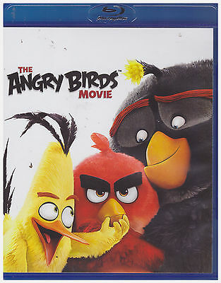 ANGRY BIRDS MOVIE (Blu-ray, 2016)
