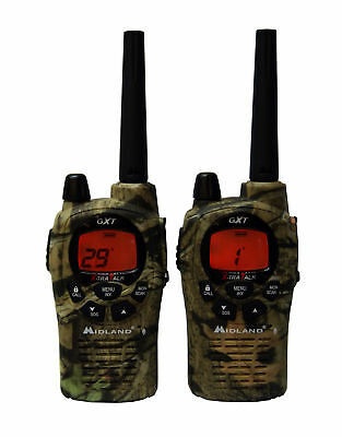 MIDLAND GXT1050VP4 TWO 2 WAY RADIO WALKIE TALKIE 36 MILE FRS