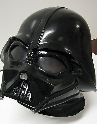 Darth Vader Deluxe Latex Over the Head 1 pc Helmet for Adults or Teens Star Wars](Star Wars Clothing For Adults)