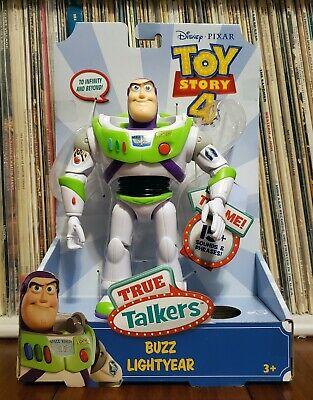Buzz Lightyear Toy Story 4 True Talker Figure NIB