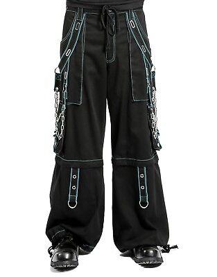 - TRIPP NYC BONDAGE STEAMPUNK GOTHIC CYBER EMO CHAIN RAVE GOTH BAGGY PANTS AF7403M