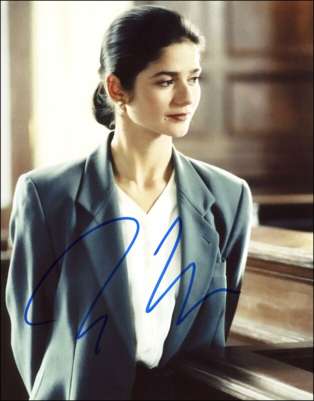 """Jill Hennessy """"Law & Order"""" AUTOGRAPH Signed 8x10 Photo B ACOA"""