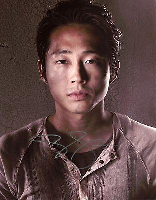Steven Yeun - Glenn Rhee - The Walking Dead - Signed Autograph REPRINT
