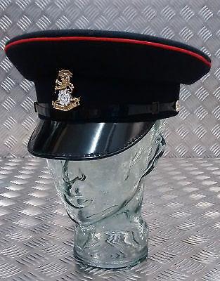 Original Britische Armee Yorkshire Regiment Kleid Hut mit und Kinnriemen