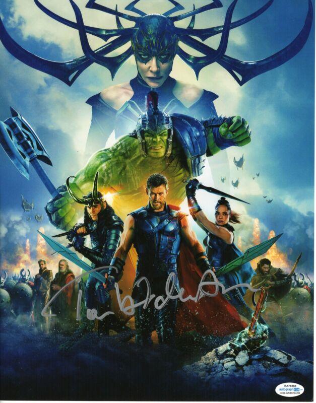 Tom Hiddleston Autograph 11x14 Photo Marvel Thor Loki Signed ACOA TH10