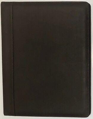 Free - Real Leather Portfolio Padfolio Writing Pad Presentation Folder