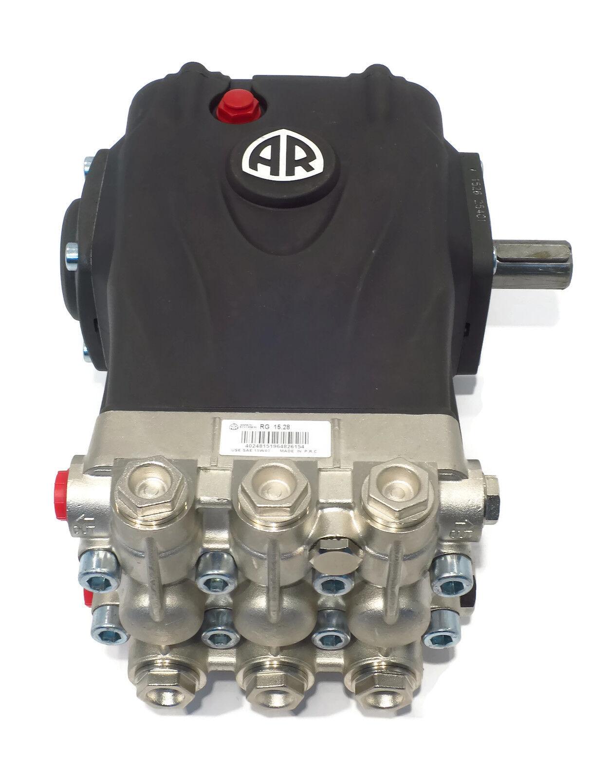 Triplex General Pump TS1011 Pump 4.4 GPM@2000 PSI 24mm Solid Shaft 1450 RPM