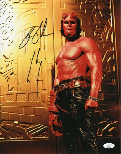 Ron Perlman Autograph Signed 11x14 Photo - Hellboy (JSA COA)