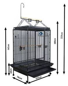 Riverwood pickup XXL 225cm bird cage with stand toy hanger Riverwood Canterbury Area Preview