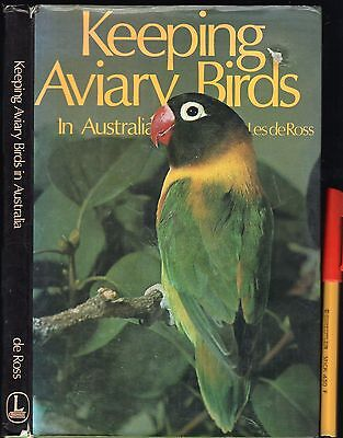 Keeping AVIARY BIRDS in AUSTRALIA Parrot Dove Finch Pheasant ++ EC