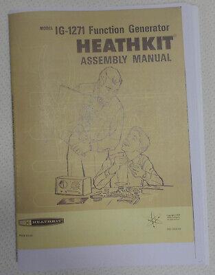 Heathkit Ig-1271 Function Generator Assembly Manual