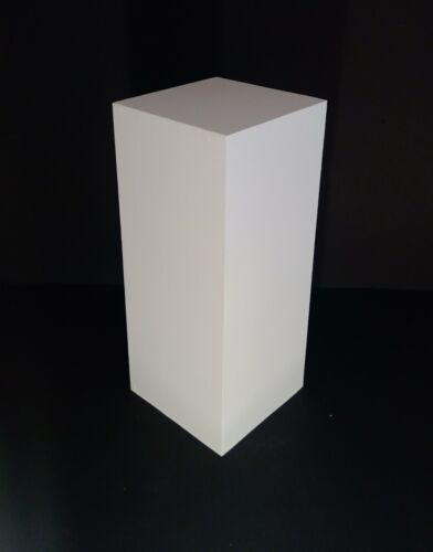 """36"""" Tall White Display Pedestal Stand Riser Column Pillar - Weddings Parties"""