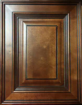 Mocha Glazed Kitchen Cabinets-SAMPLE DOOR -RTA-All wood, IN STOCK-SHIP QUICK